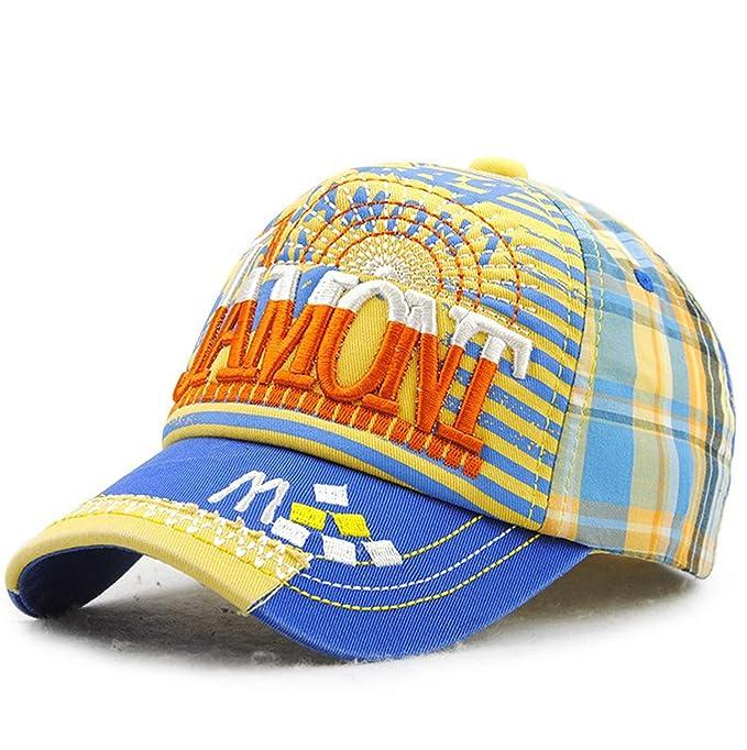 Amazon.com: Snapback Kids Hat Letter Baseball Cap Boy Girl Visor Cotton Gorras Embroidery Children Sun Hat Hip Hop Cap: Clothing