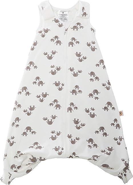 ERGObaby SLBLGELPH5 - Saco de Dormir para bebé (Verano, con Ranura para cinturón, 18-36 Meses, 0,5 TOG, algodón), Multicolor: Amazon.es: Bebé