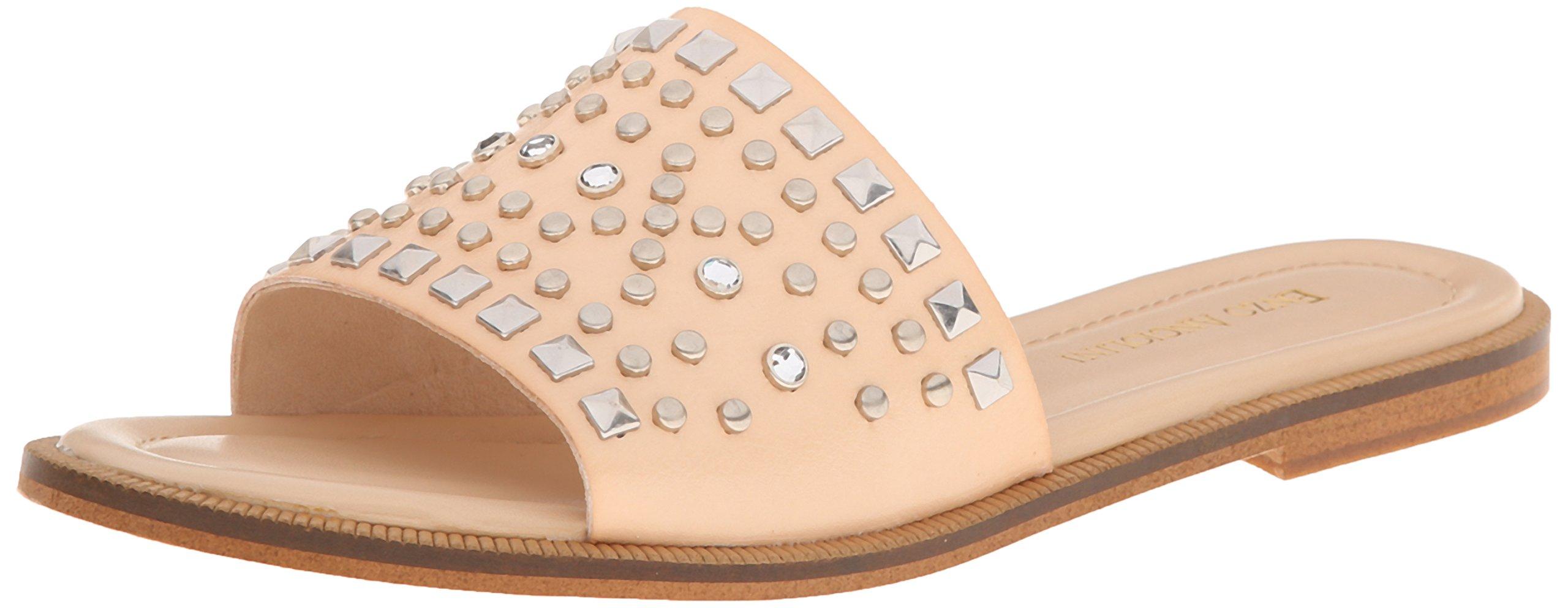 Enzo Angiolini Women's Jaydra Gladiator Sandal, Natural, 8 M US