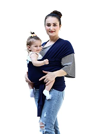 Amazon Com Baby Wrap Carrier For Newborns Infants Toddlers