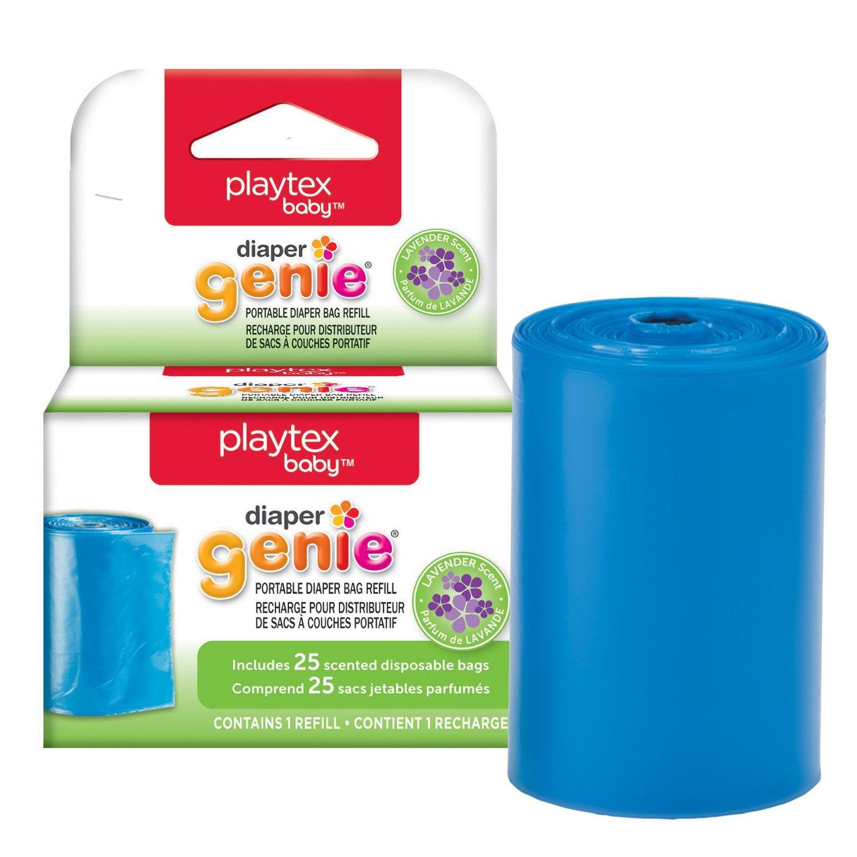 Playtex Diaper Genie Portable Diaper Pail Bag Refill 10078300800689