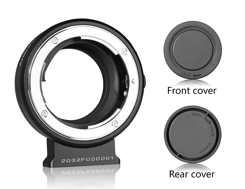 MEIKE MK-S-AF3B Plastic Bayonet Plastic Body Auto Focus Macro Extension Tube Adapter Ring 10mm 16mm for Sony E-Mount FE-Mount Mirrorless Camera A7 A7M2 NEX3 MEX5 NEX6 NEX7 A5000 A6000 A6300 A6500 etc(Black)