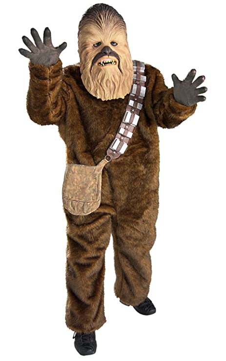 Rubies Star Wars Classic Childs Deluxe Chewbacca Costume, ...