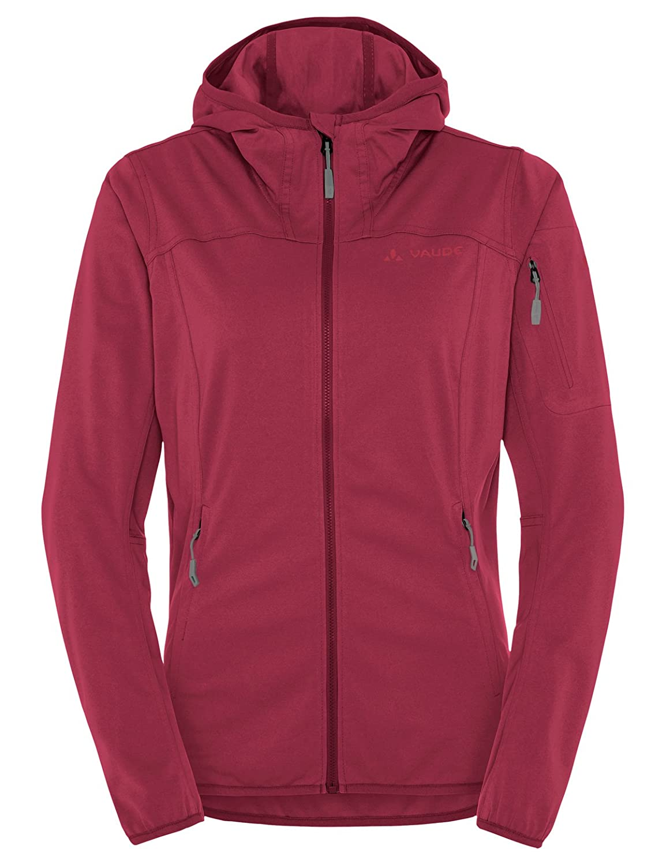 Red Cluster Vaude Women's Durance Hooded Jacket