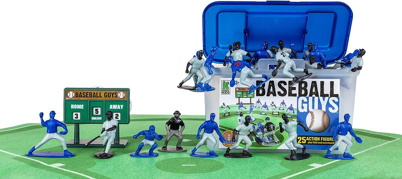 Inspires Imagination with Blue Black vs Kaskey Kids Baseball Guys