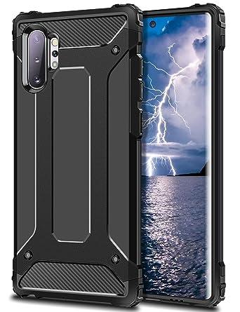 Amazon.com: Wollony Funda para Galaxy Note 10 Plus, Armor ...