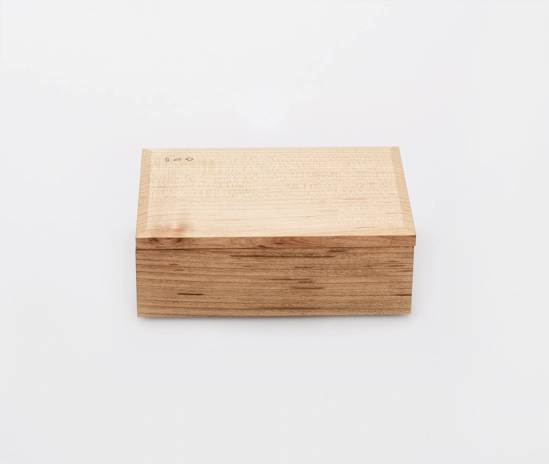 Azmaya Hinoki Wood Butter Dish
