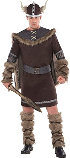 Christys - Disfraz de vikingo guerrero (talla L/XL): Amazon.es ...