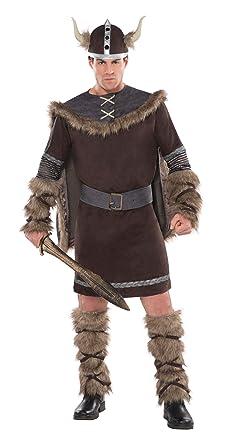 Amazon.com: Viking Warrior Large Adult Costume: Clothing