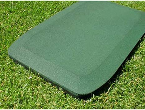 Kidwise 1 5 Inch Fanny Pads Green Rubber Safety Mats Set Of 2 Amazon Co Uk Toys Games