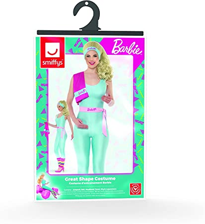 Smiffys 42977M - Disfraz de Barbie, Talla M, Color Azul
