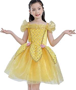 Disfraz de Princesa Bella Aurora de Cenicienta para niñas pequeñas ...