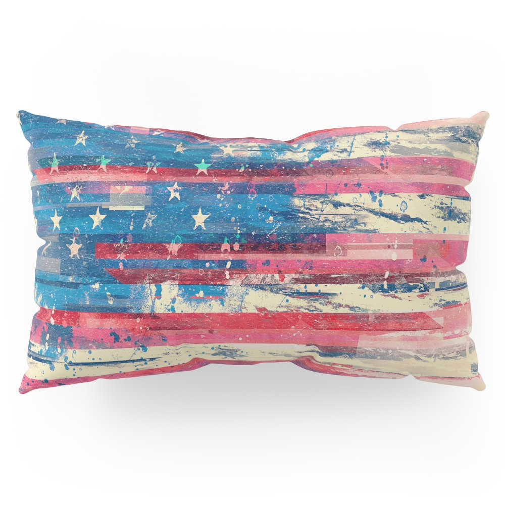 Society6 Amerikka Pillow Sham King (20'' x 36'') Set of 2