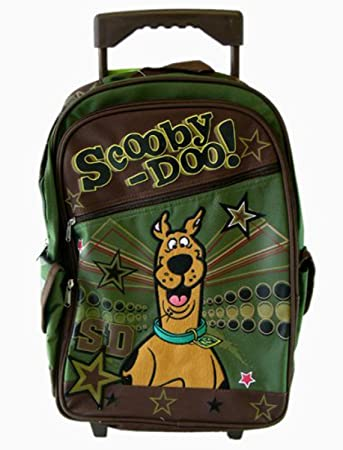 Amazon.com: Scooby Doo Large Rolling Backpack - Super Star [Toy ...