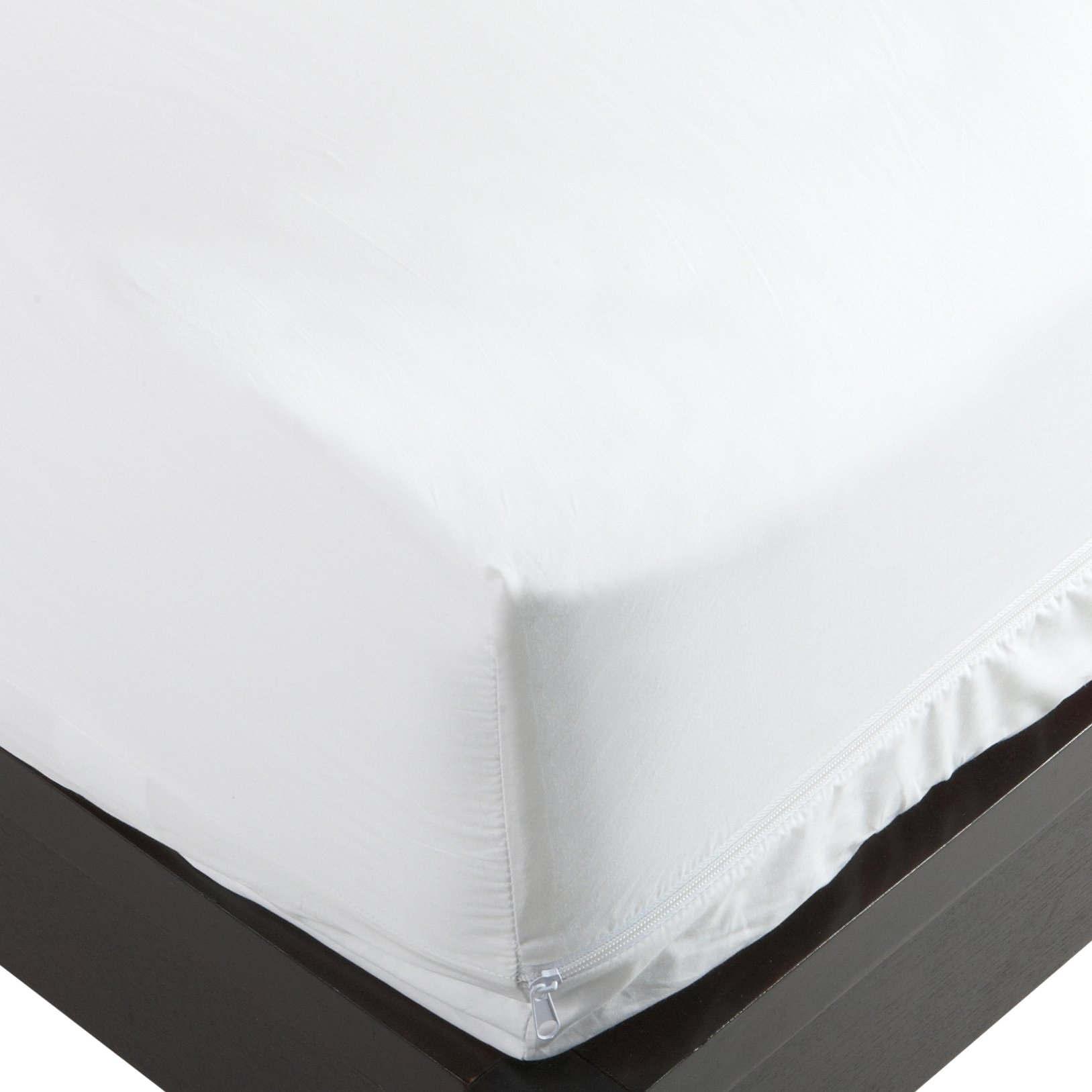 Stretch Knit Polyester Bed Bug & Dust Mite Control Queen 16-Inch Deep Pocket Mattress Protector