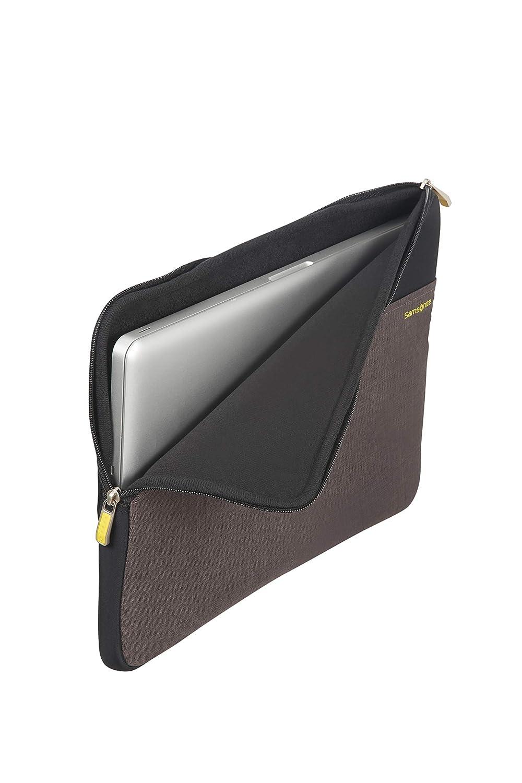 5.5 liters Samsonite Custodia Porta Pc Colorshield 2.0 Black 37 cm 14.1\ Nero//grigio Nero//grigio Messenger Bag