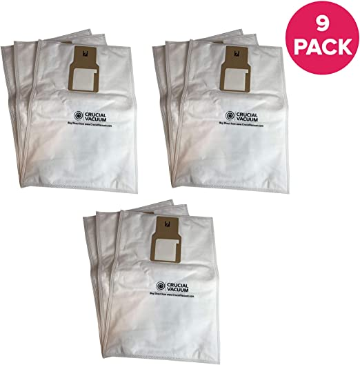 Replacement for Kenmore Vacuum Cleaner Bags 9 Upright 50688 and 50690 Type U-2 V