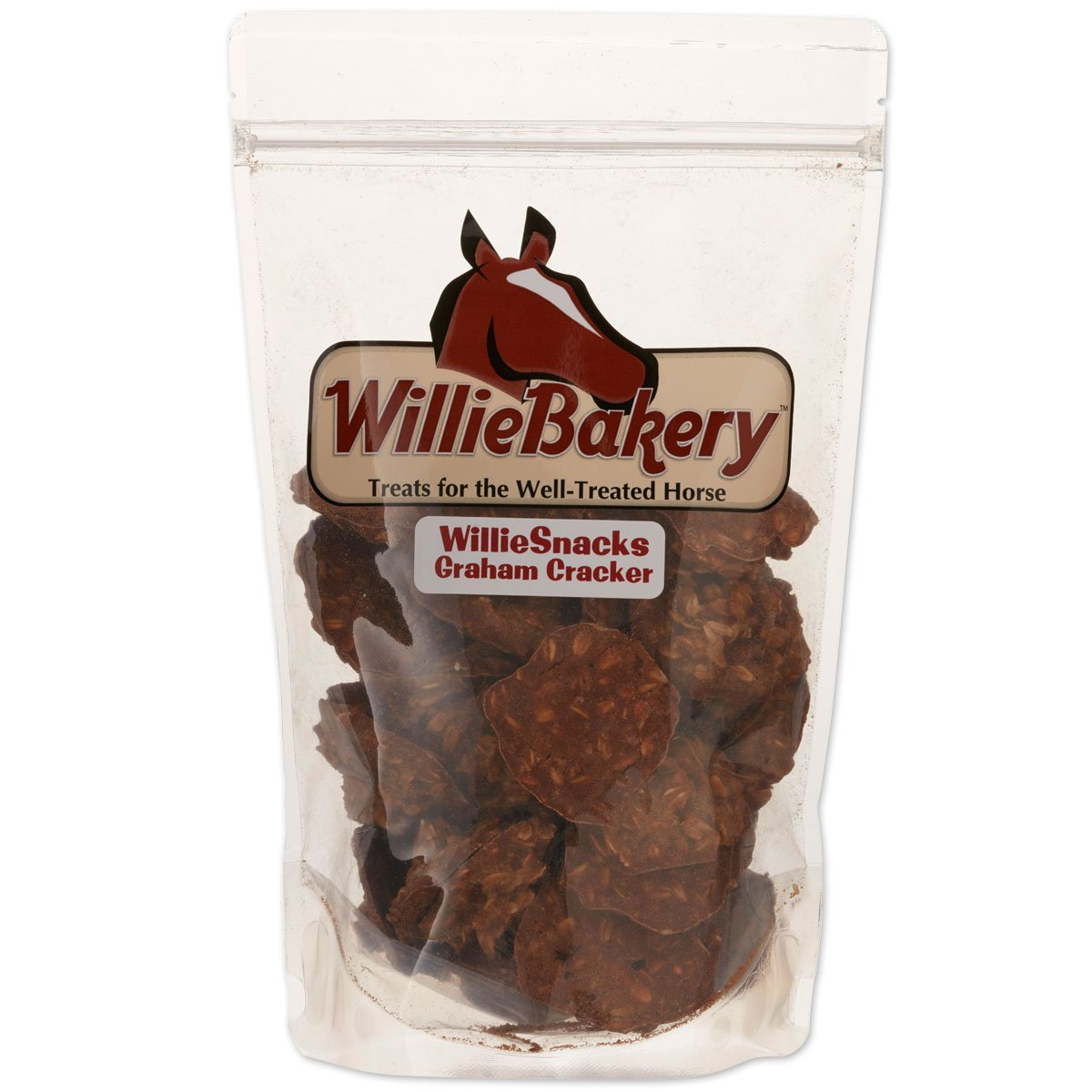 WillieMuffins Graham Snacks 3 pounds  Horse Treats (1 Pouch)