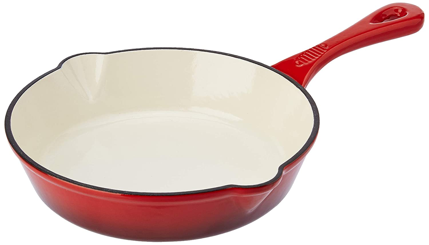 Solimo Cast Iron Fry Pan