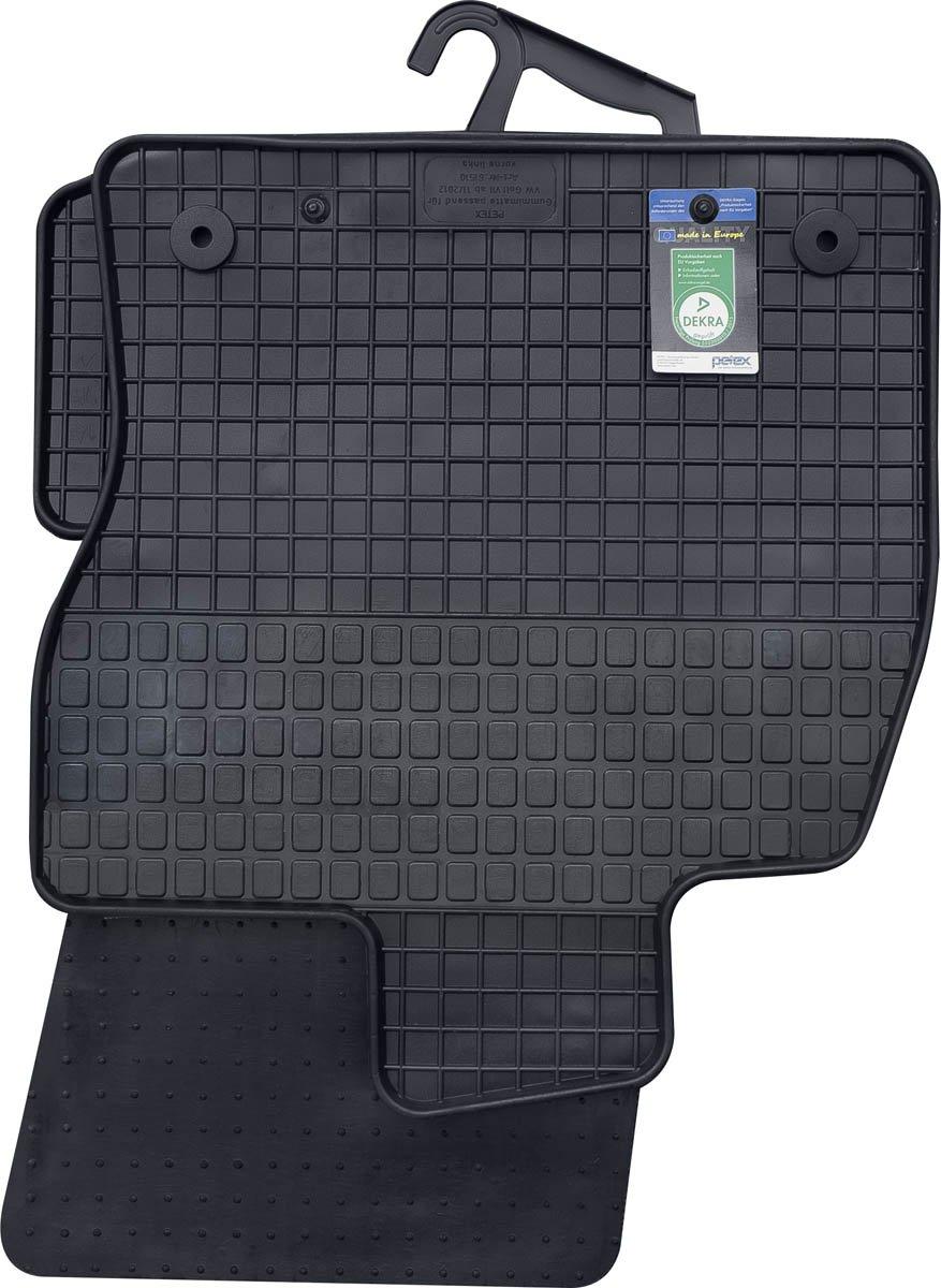 kh Teile Gummimatten Original Qualitä t Gummi Fuß matten 4-teilig schwarz Petex Autoausstattungs GmbH 61510