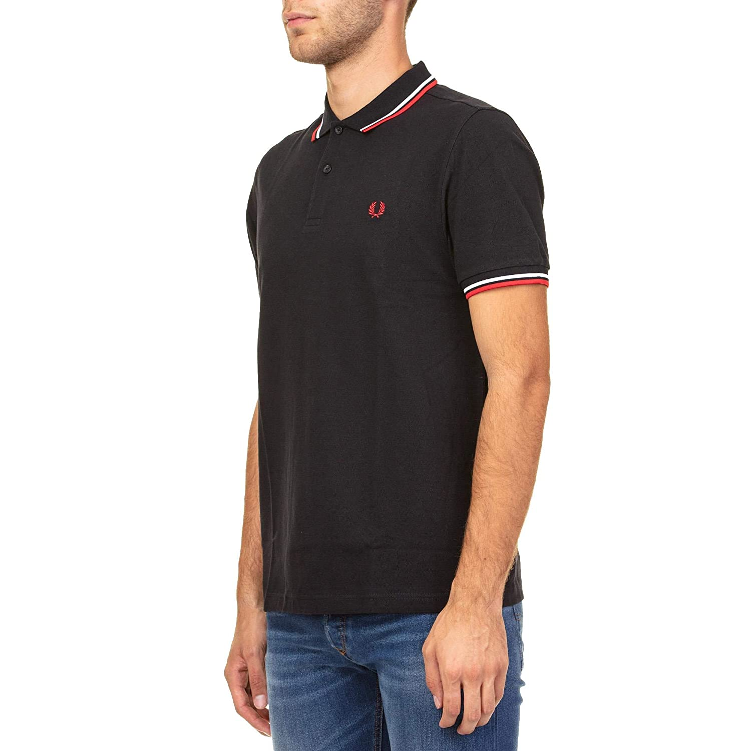 Fred Perry Luxury Fashion Hombre FPM360027471 Azul Polo ...