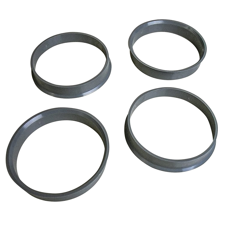 4 X Anelli di centraggio diametro esterno: 57, 1 mm + interno 54, 1 mm 1mm + interno 54 MYBA-S