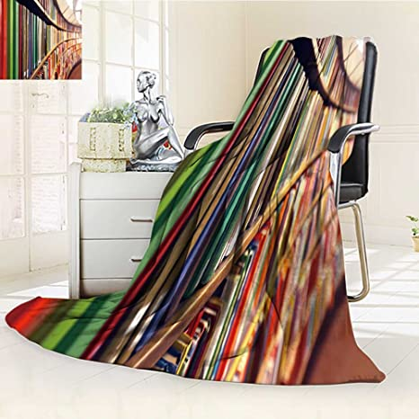 Amazon com: 300 GSM Fleece Blanket library Super Soft Warm