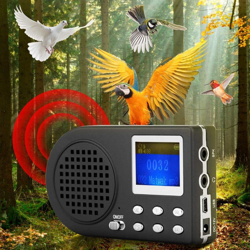 Bird Hunting Lure MP3 Birds Sound Player Animal Speaker Singing Device Amplifier