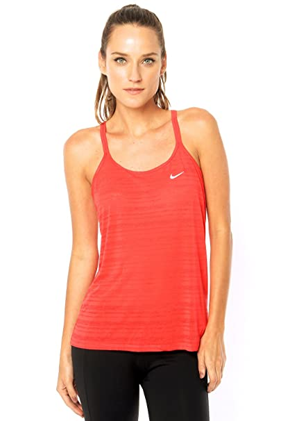 Image Unavailable. Image not available for. Color  Nike Womens Dri Fit  Strappy Tank Top aa491ee82