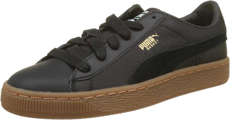 PUMA Basket Classic Gum Deluxe Jr, Sneakers Basses Mixte Enfant