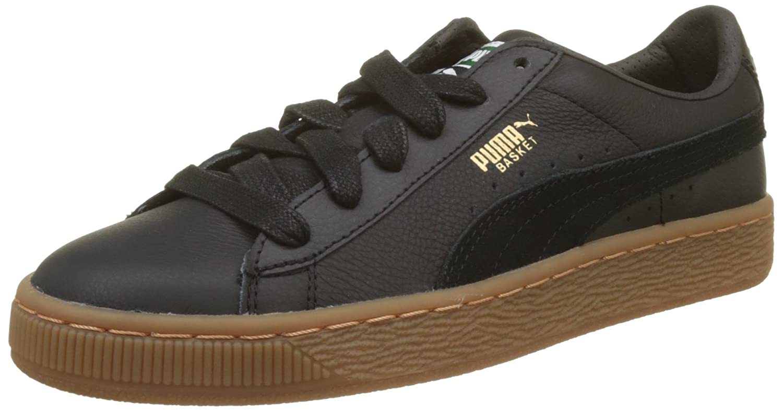 Puma Basket Classic Gum Deluxe Jr, Sneakers Basses Mixte Enfant 365078