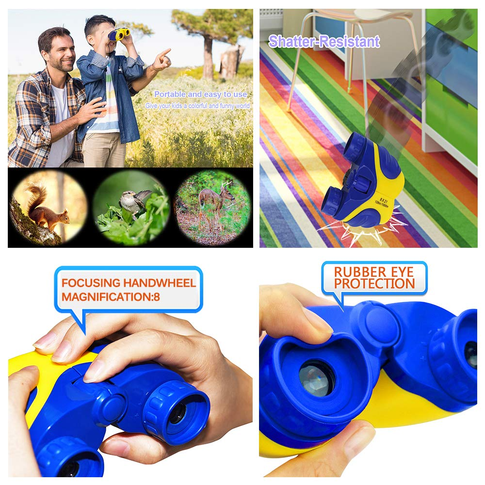 HODO Popular Outdoor Toys for 3-12 Year Old Boys, Long Range Walkie Talkies for Kids Toys for 3-12 Year Old Girls Gifts for 3-12 Year Old Boy Boy Toys Age 3-12 Girl Toys Gifts Age 3-12 HDHTS13 by HOdo (Image #5)