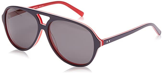 Sunoptic Damen Herren Sonnenbrille Gr. Einheitsgröße, Black (Black/Clear)