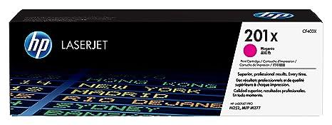 HP CF403X 201X Magenta High Yield Toner Cartridge Genuine OEM Original