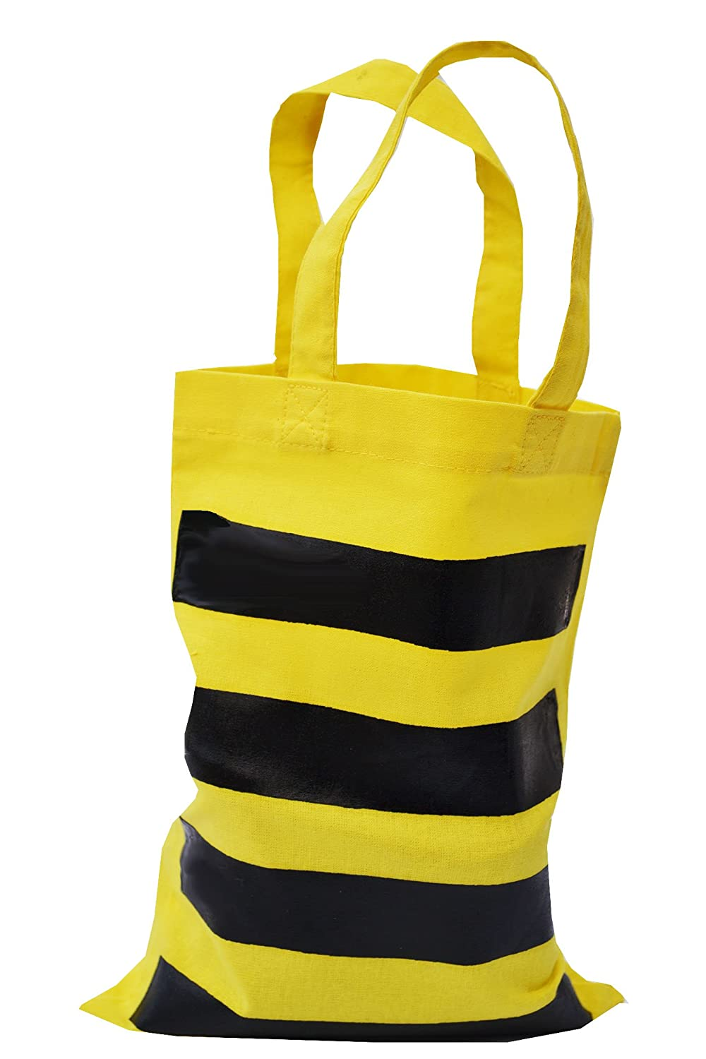 25cd69a45ecf SPECIAL OFFER! BEE yellow cotton tote bag.  Amazon.co.uk  Clothing