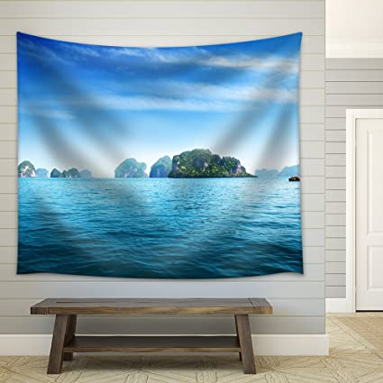 Amazon com: wall26 - Island in Andaman Sea Thailand - Fabric