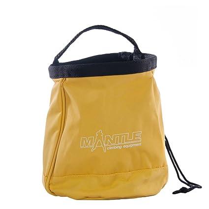 Mantle Kletterzubehör Boulder Chalk Bag - Bolsa de magnesio para Escalada, Talla One Size