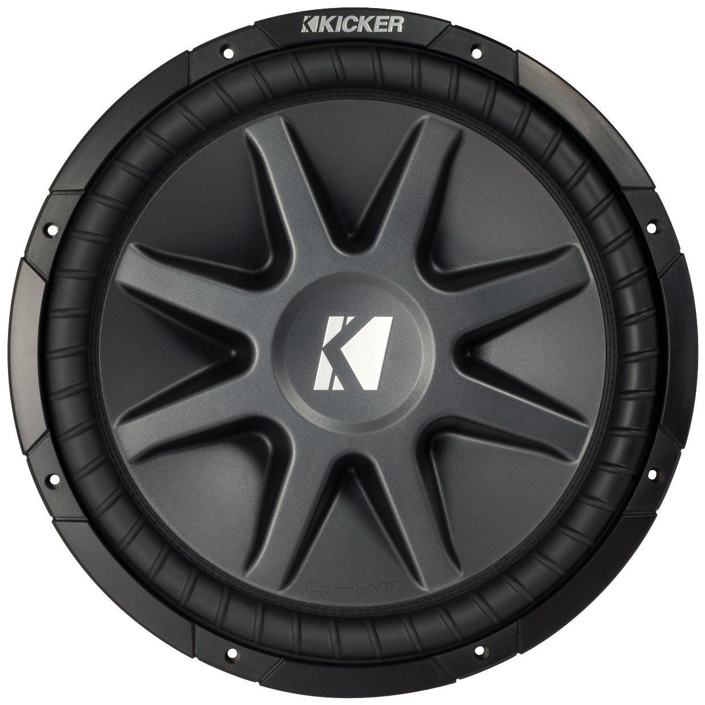 Amazon.com: Kicker 10cvr15-2 2010 Comp Vr Series 15-Inch 2 Ohm Dual Voice  Coil 1000 Watt Car Subwoofer: Cell Phones & Accessories