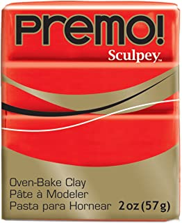 product image for Premo Sculpey Polymer Clay 2 Ounces-Cadmium Red