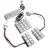 タント タントカスタム LA600S LA610S LED ルームランプ 44灯 車種専用設計 ルームライト セット ホワイト
