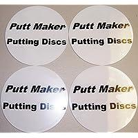 Putt eléctrica Putting discos Pack de 4unidades–ayuda