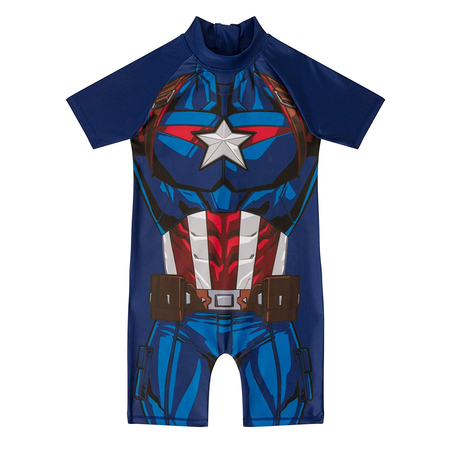 As Available Captain America Costume Surf Suit