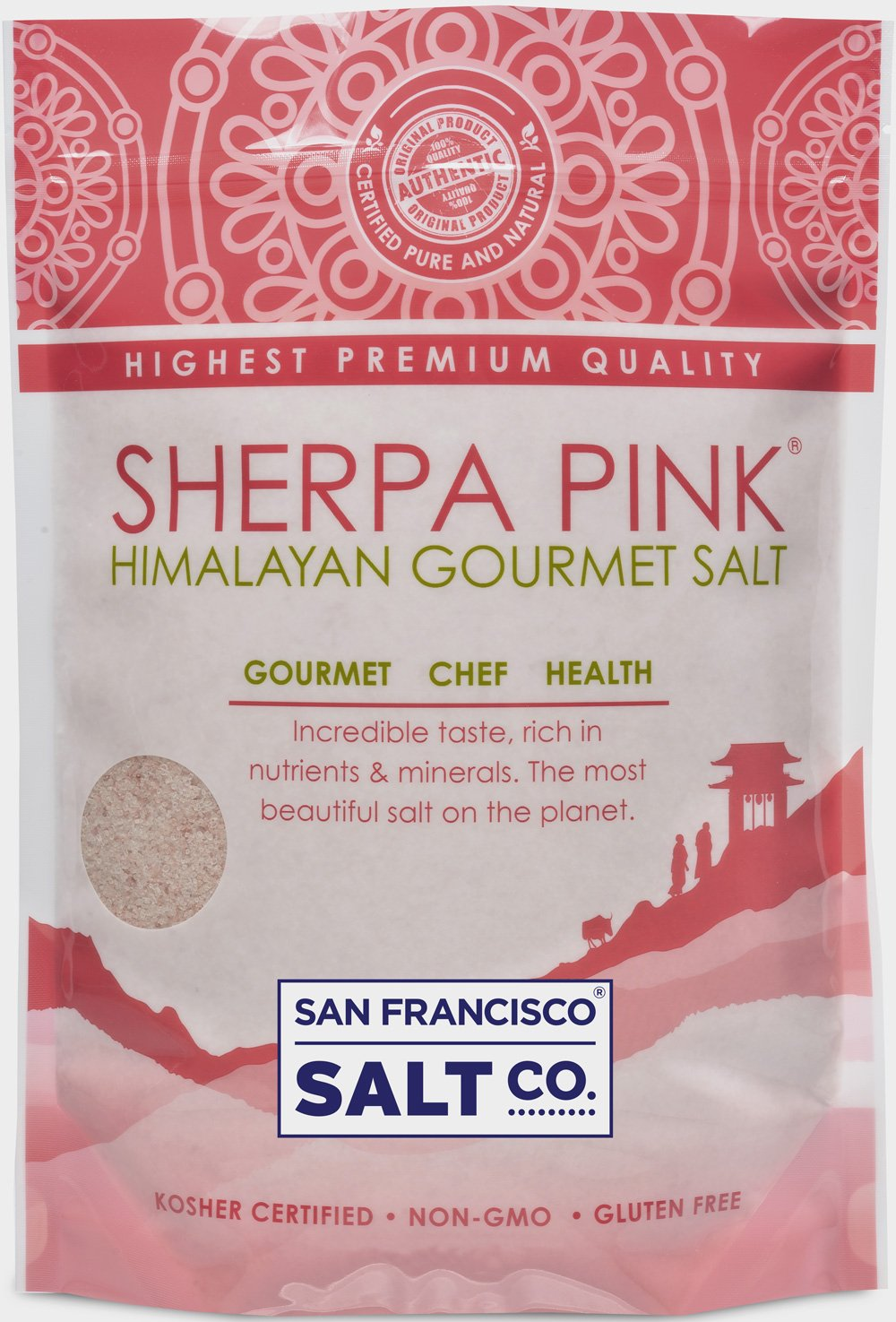Sherpa Pink Gourmet Himalayan Salt, 5lbs Fine Grain. Incredible Taste. Rich in Nutrients and Minerals To Improve Your Health. Add To Your Cart Today. …