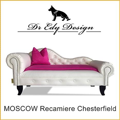 Dr EDY Diseño Perros sofá Chesterfield – Sofá cama Moscow XXL para perros chaise Longues con