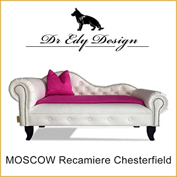 Dr EDY Diseño Perros sofá Chesterfield - Sofá cama Moscow XXL para perros chaise Longues con techo: Amazon.es: Productos para mascotas