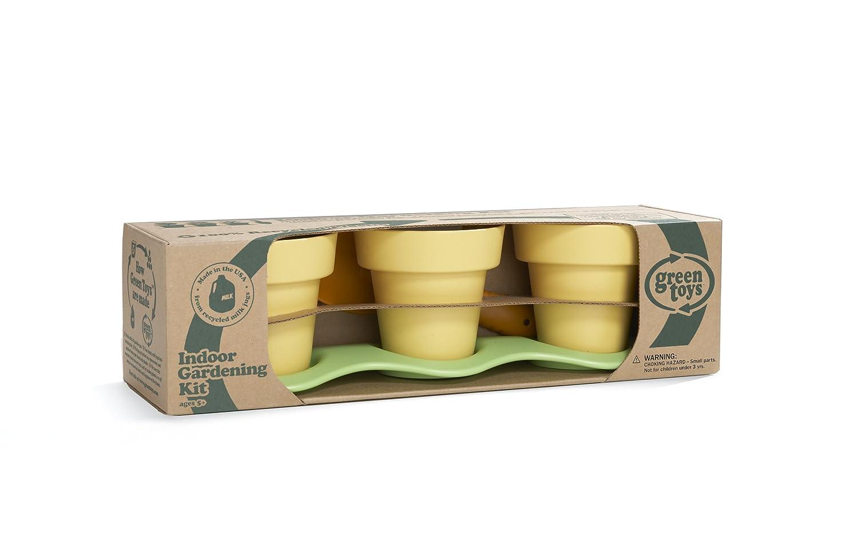 Amazon green toys indoor gardening kit toys games workwithnaturefo