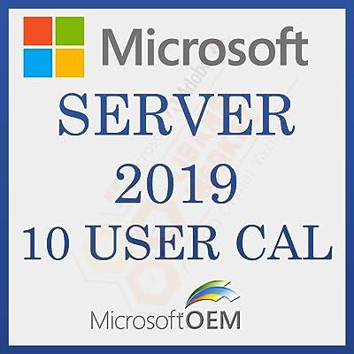 MS Server 2019 User 10 CAL   Con Factura   Versión Completa, Licencia Original de por vida, código de activación de la licencia de correo electrónico y tiempo de entrega del mensaje: de 0 a 6 horas