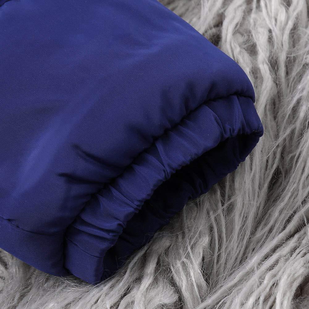 kaiCran Baby Toddler Snowsuit Romper Down Jacket Winter Snowsuit Zipper Padding Onesie for Girls Boys