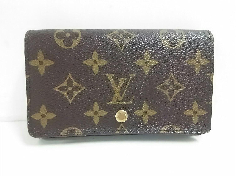 (ルイヴィトン) LOUIS VUITTON 2つ折り財布 ポルト モネビエ トレゾール M61730 【中古】 B07DXNZG42