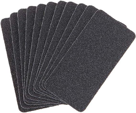 Mayoaoa - 10 piezas de papel de lija en seco de tamaño pequeño ...